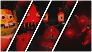 Five Nights at the Chum Bucket All Jumpscares