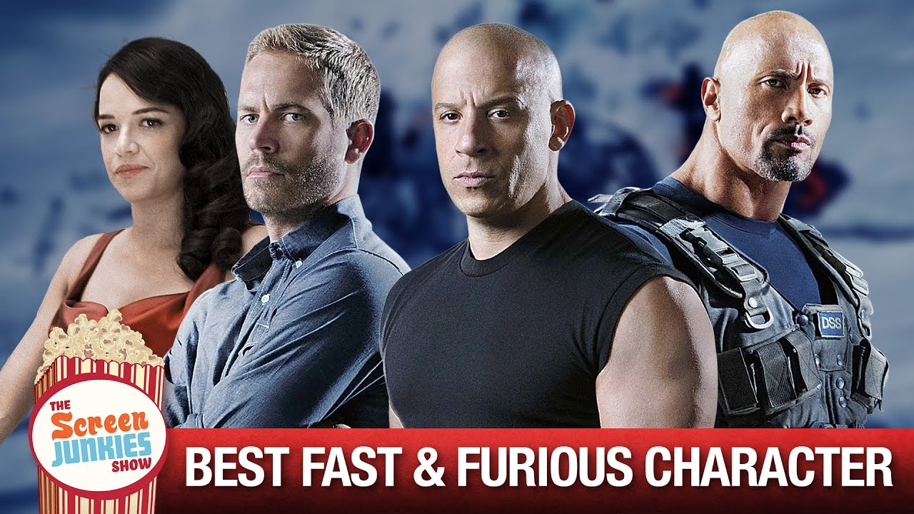 The BEST Fast and Furious Character Is...??? - YouTube