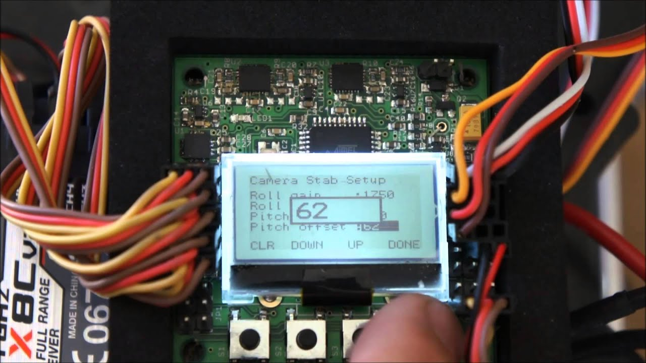 medium resolution of using kk2 board for camera stabilization kk2 wiring camera