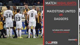 MATCH HIGHLIGHTS: Maidstone United vs Dagenham & Redbridge