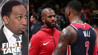 Rockets losing to Wizards without Chris Paul not a big deal | First Take