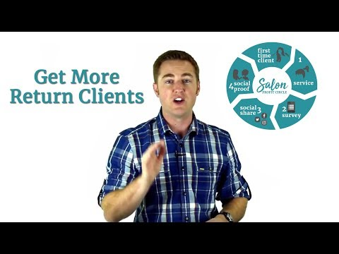 Salon Marketing - A Salon Business Plan Strategy for Client Retention
