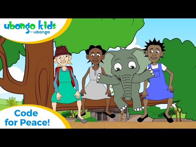 EPISODE 42: Code for Peace! | Ubongo Kids | African Educational Cartoons