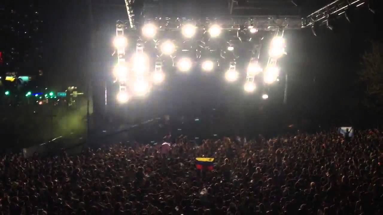 Borgore @ Ultra Music Festival Miami 2014 (from Heineken VIP area) [2014-03-28]