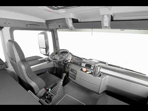 New interior features for increased ergonomics