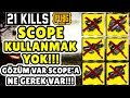 GÖZLERİM VAR SCOPE 39 A NE GEREK VAR SCOPE KULLANMADAN OYUN KAZANMA CHALLENGE PUBG Mobile mp3