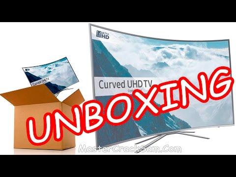 UNBOXING SAMSUNG SMART TV 4K 55 PULGADAS 6500 SERIES 6