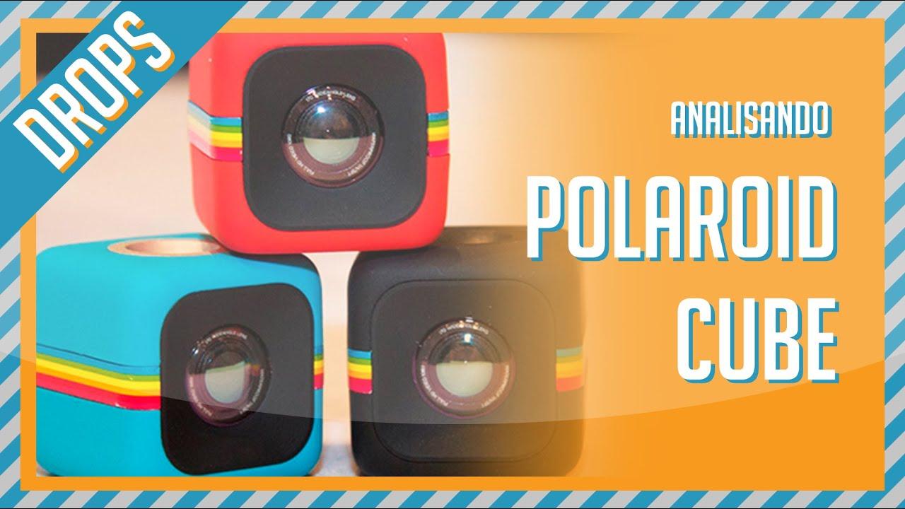 a6f01c611b7c9 Polaroid Cube  UNBOXING E ANÁLISE  - YouTube