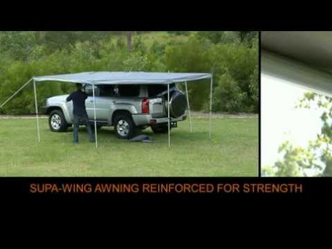 Supa Wing Rv 4x4 Awning Full Youtube