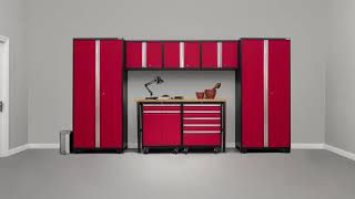 NewAge Products Pro 3.0 Garage Cabinetry
