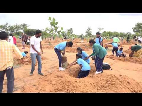 spc students planting
