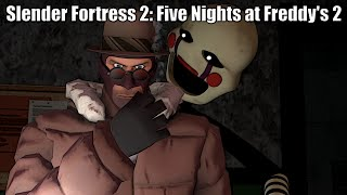 Slender Fortress 2:Five Nights at Freddy's 2