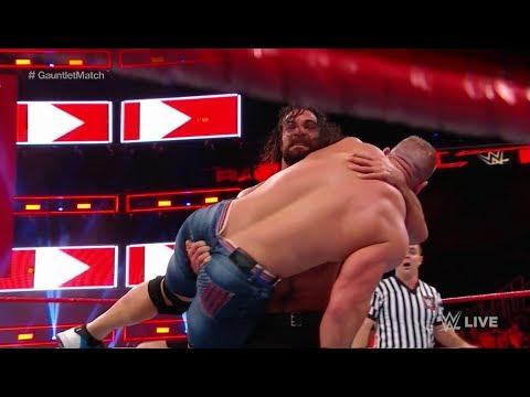 WWE Wal3ooha 22/2/2018  - سيث رولينز يحطم رقم قياسي في راو