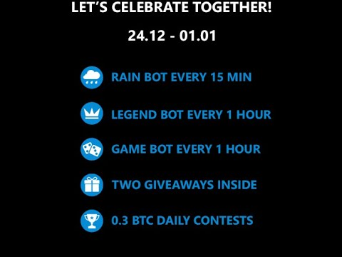 Luckygames bitcoin litcoin dogecoin chat rain admin bonus ...