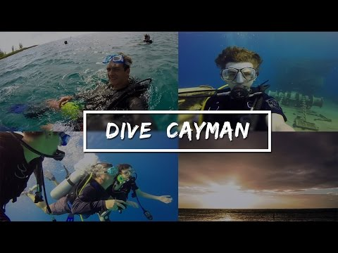 Dive Cayman /// Wall, Wreck, Cave and Night Diving in the Cayman Islands