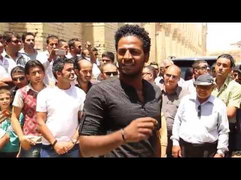 Demonstration of young artists, Mutanabi Street   Ahmed Moneka