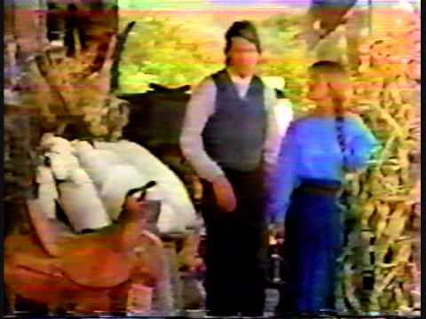 E! on set with Jane Seymour & Joe Lando at DR. QUINN  2.60