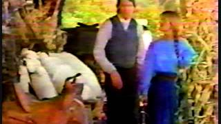 E! on set with Jane Seymour & Joe Lando at DR. QUINN  [2.60]