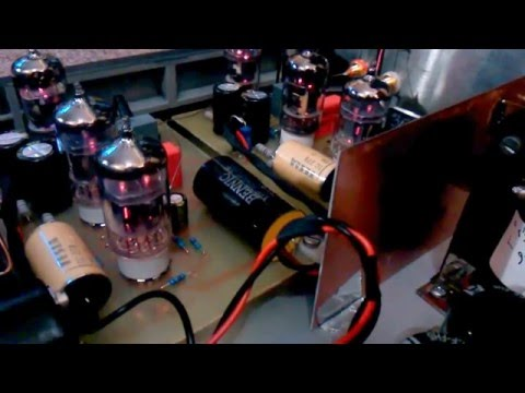 Tube preamp and tube riaa preamp
