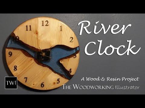 I Make a RIVER CLOCK