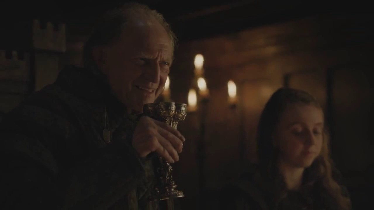 Edmure Tully Returned in the Game of Thrones Finale and Sansa Owned Him So Hard