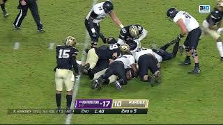 First Half Highlights: Northwestern At Purdue   Big Ten Football