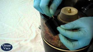 How To Replace A Rainbow Vacuum Latch GreatVacs.com Repair Tutorial