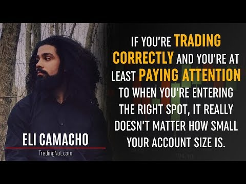 Trading with a $10 Account w/ Eli Camacho - Forex Trading Interview | 52 mins