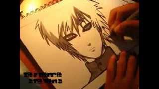 Рисуем Гаару из Наруто (супер рисунок карандашом)(Подписывайтесь на мой второй канал http://www.youtube.com/channel/UCPqTN4pelMTTlLqwM7T4-3w новый канал ..., 2014-01-28T16:15:10.000Z)