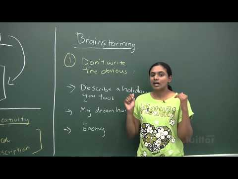 English Secondary 1/2 - Advance Level Composition Writing - Creative Writing Demo Video