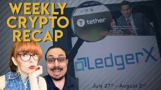 This Week in Crypto! Ledgerx fake futures launch, senate hearing standouts, CSW vs Ver & more!