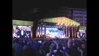 Concert Andre Rieu, vineri 5 iunie 2015 (5.06.2015), Bucuresti, Piata Constitutiei 22
