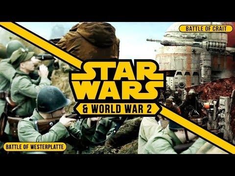 Battle of Westerplatte vs. Battle of Crait | World War 2 in Star Wars