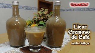 LICOR CREMOSO DE CAFÉ estilo Baileys – en Castellano