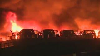 """Explosionen in Tianjin: """"Es war als ob der Himmel zusammenbrach"""""""