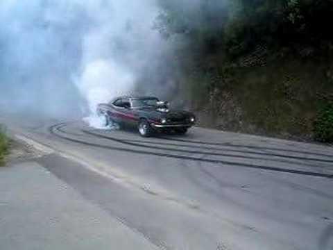 burnout supercharged  camaro 5 spd manual
