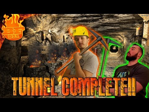Tunnel to the Traders Completed!!! - 7 Days to Die Ep 54