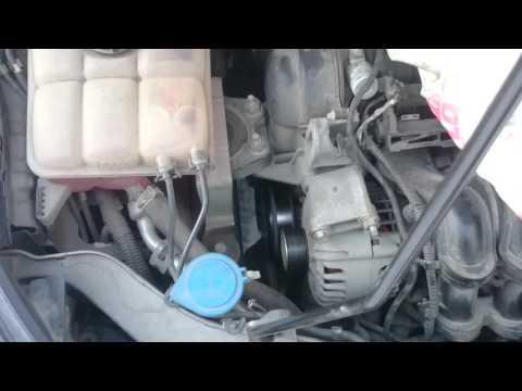 как натянуть ремень генератора на киа спортейдж 2 видео
