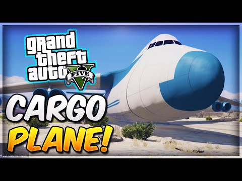 GTA 5 Rare & Secret Vehicles - CARGO PLANE...
