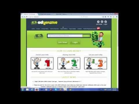 الربح من الإنترنت | كيفية ربح اكثر من 3 دولار في اليوم عن طريق موقع Adyou.me للختصار الروابط