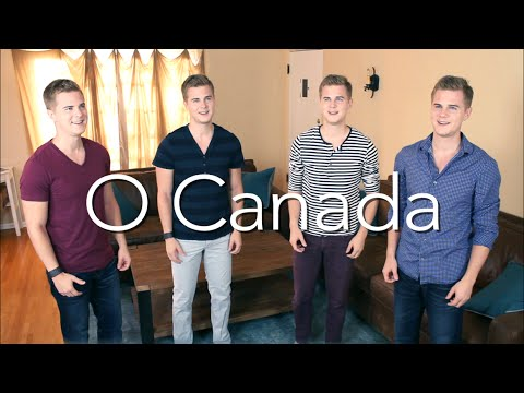 O CANADA - Canadian National Anthem (Jazz A Cappella)
