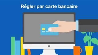 Espace client Pro - Régler sa facture par carte bancaire