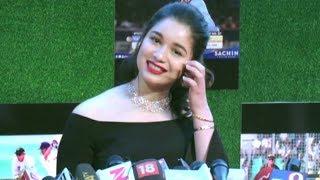 Sachin Tendulkar Daughter Sara Tendulkar Full Interview At Sachin A Billion Dreams Movie Premiere