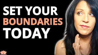 How To Set Boundaries With Narcissists and Difficult People thumbnail
