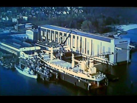 FSG '93 - Flensburger Schiffbau-Gesellschaft im August 1993