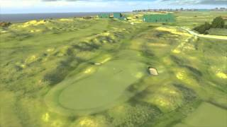 The 143rd Open at Royal Liverpool: 9th Hole Flyover (2014)