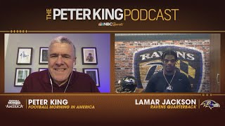 Ravens' Lamar Jackson shąres goals for 2020 (FULL INTERVIEW) | Peter King Podcast | NBC Sports