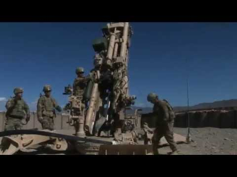 U.S. Army 1st Infantry Division Soldiers Provide Indirect Artillery Fire