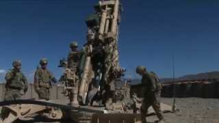 US Army 1st Infantry Division Soldiers Provide Indirect Fire