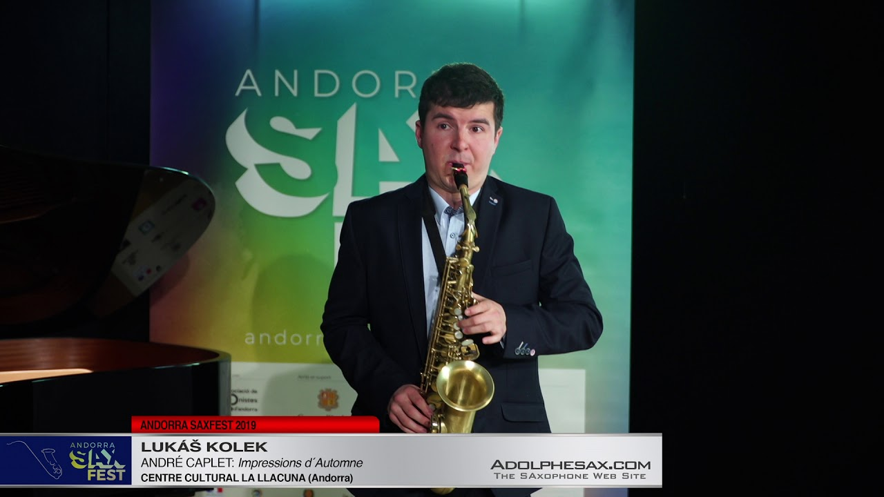 Andorra SaxFest 2019 1st Round   Lukas Kolek   Impressions d´Automne by Andre Caplet